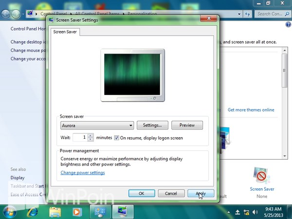 Cara Mengganti Screensaver Windows 7