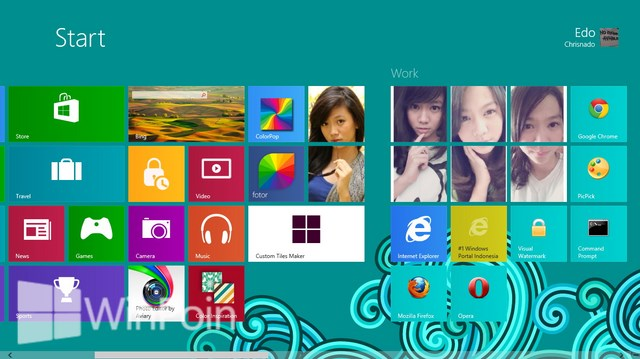 Aplikasi Custom Tiles Maker Untuk Windows 8