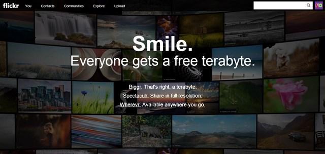Awawaw..Flickr Kini Dilengkapi dengan 1TB Storage!
