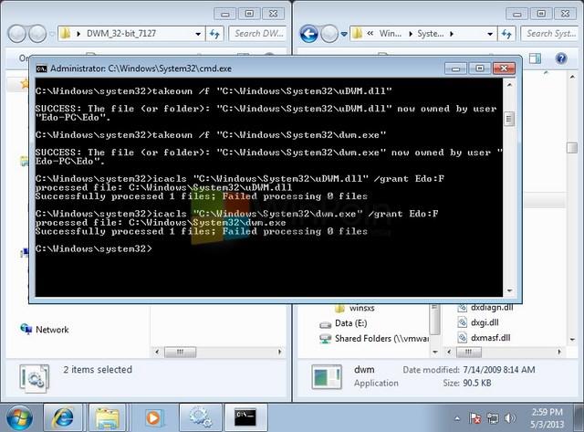 Cara Mengaktifkan Full Transparansi di Windows 7