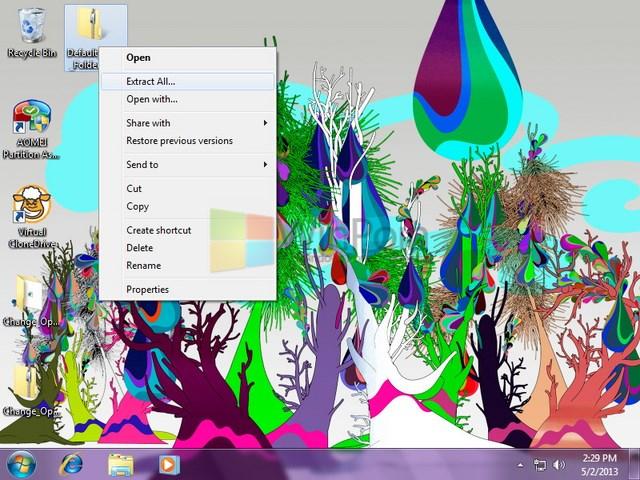 Cara Mengganti Icon Folder Aktif di Windows 7