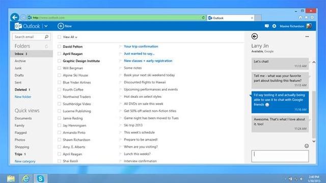 Sekarang Kamu Bisa Menggunakan Google Talk di Outlook.com