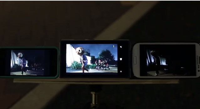 iPhone 5 vs Galaxy S3 vs Nokia Lumia 920 di Video Komersial Windows Phone