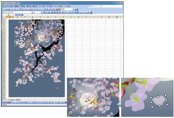 Orang Jepang ini Membuat Lukisan Keren di Excel