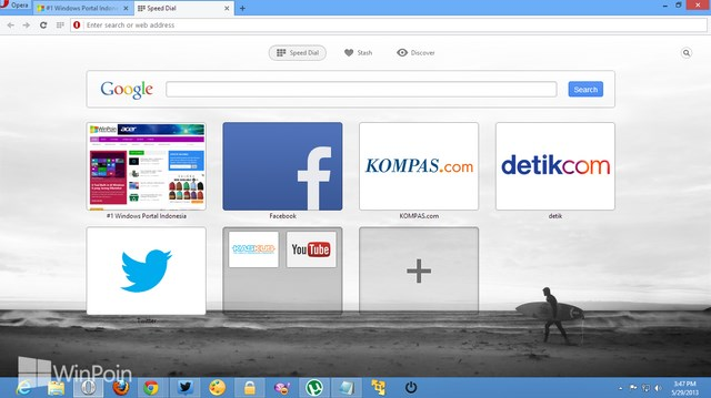 Review Opera Next: Browser Opera Berbasis Chromium