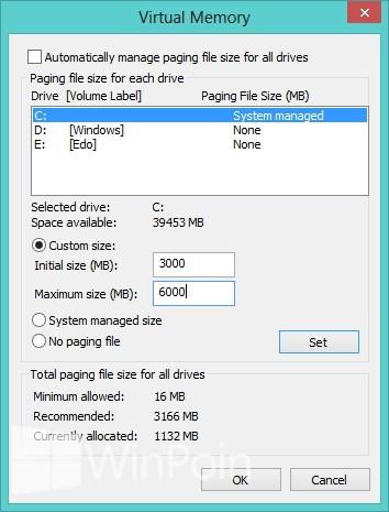Apa Windows Page File Itu?? Haruskah Diaktifkan?