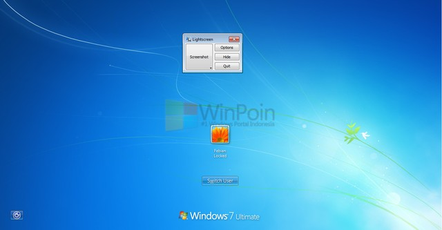 Cara Mengambil Screenshot di Logon Screen Windows