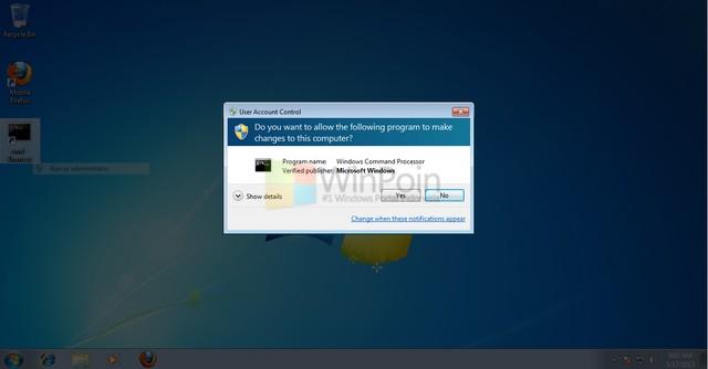 Cara Mengambil Screenshot dari Windows UAC