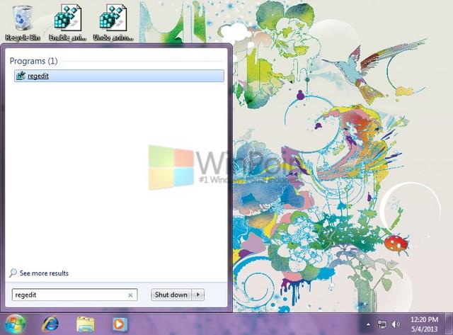 Cara Mengaktifkan Slow Motion Pada Efek Aero di Windows 7