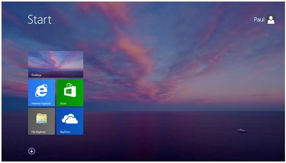 Yihaa..Inilah Start Button di Windows 8.1!