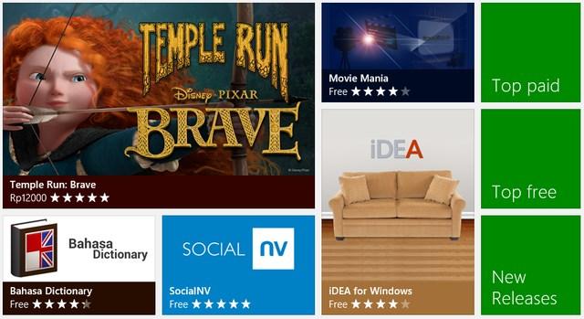 5 Windows 8 Apps Terpopuler Minggu Ini - 20 Mei 2013