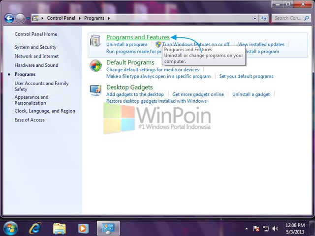 Cara Uninstall Program di Windows 7
