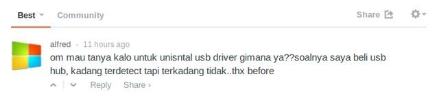 Cara Uninstall USB Driver yang Bermasalah