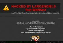 Website Polri Berhasil Di Hack Lagi!