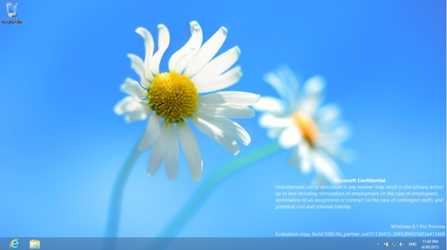 Installer Windows 8.1 Build 9385 Bocor Ke Publik