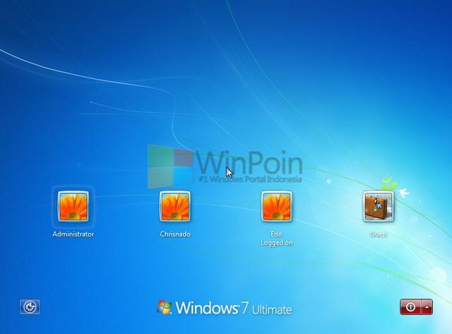 Cara Mengaktifkan dan Mematikan Akun Administrator Built-in Windows 7