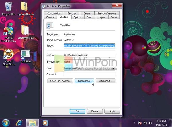 Cara Mematikan Apalikasi Not Responding dengan Super Cepat di Windows 7