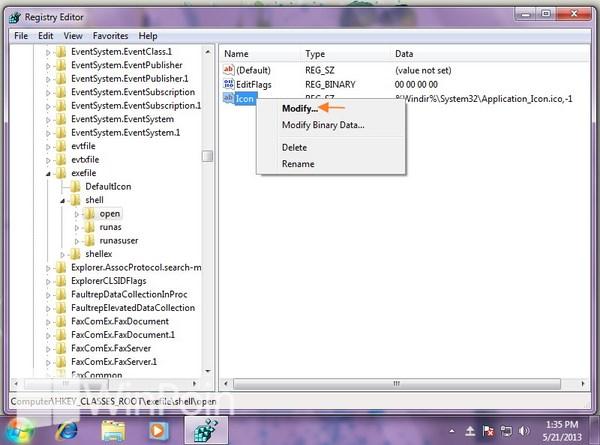 Cara Memperbaiki Icon Open File Exe di Toolbar Windows Explorer pada Windows 7