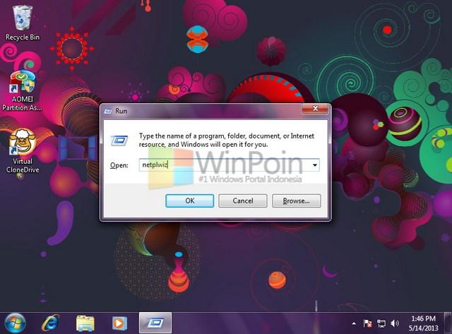 Cara Membuka Local User and Groups di Windows 7