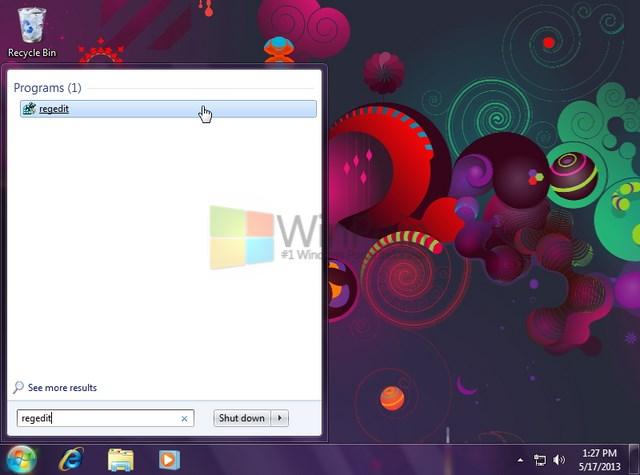 Cara Menghapus Aplikasi dari Open With pada Konteks Menu Klik Kiri Windows 7