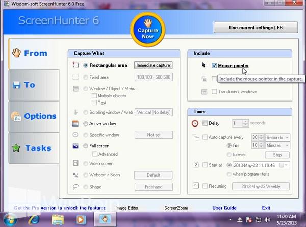 Cara Mengambil Screenshot Dengan Kursor Mouse Menggunakan 6 Software Screehshot