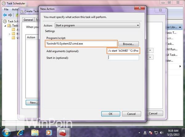 Cara Membuka Aplikasi Tanpa Pemberitahuan UAC di Windows 7