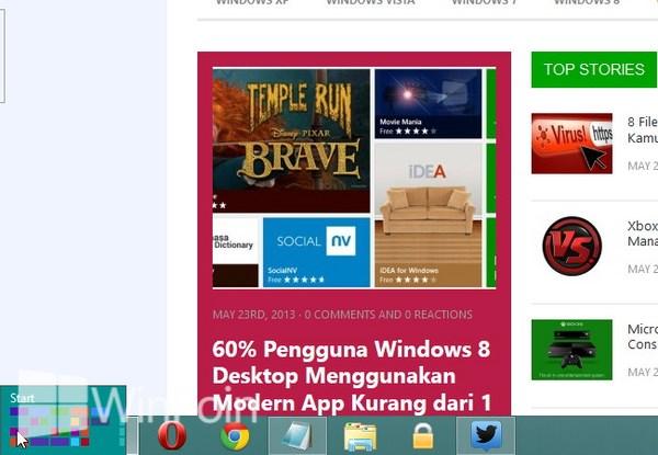 Baru Saja Menginstall Windows 8? Berikut ini Tips Buat Kamu Pengguna Baru Windows 8
