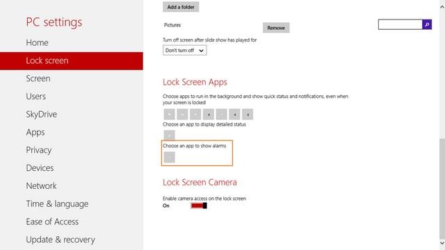 Windows 8.1 Build 9385 Ada Fitur Menampilkan Alarm di Lock Screen