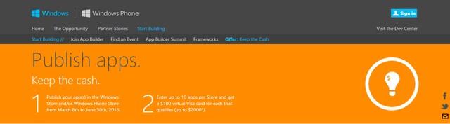 Microsoft Rela Membayar 1 Miliar Agar Developer Membuat WP8 Apps?
