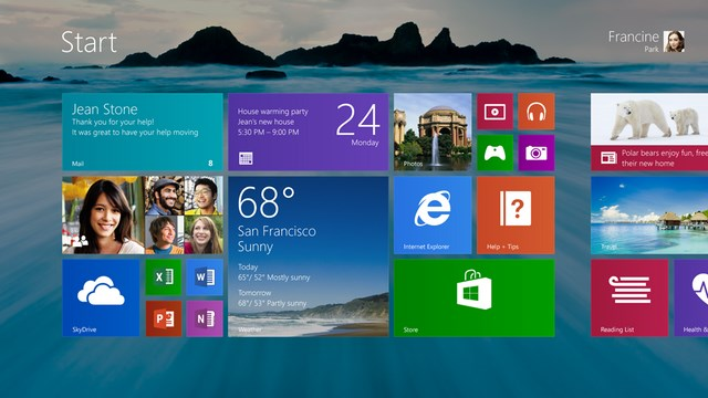 Microsoft: Inilah Fitur Baru di Windows 8.1!