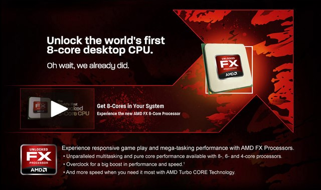 AMD Siap Merilis FX-9590: Processor 8 Core Berkecepatan 5 GHz