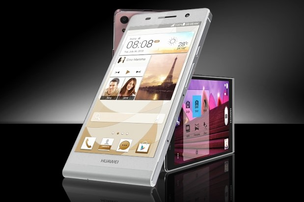 Huawei Merilis Smartphone Tertipis di Dunia