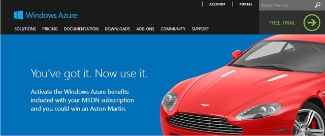 Microsoft Membagikan Mobil Aston Martin Senilai 1,16 Miliar!