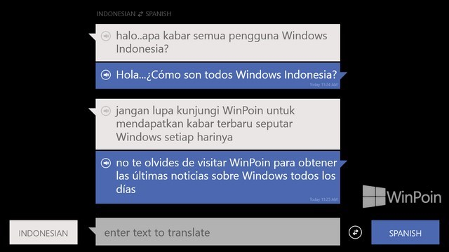 Aplikasi Bing Translator untuk Windows 8 Sudah Dirilis