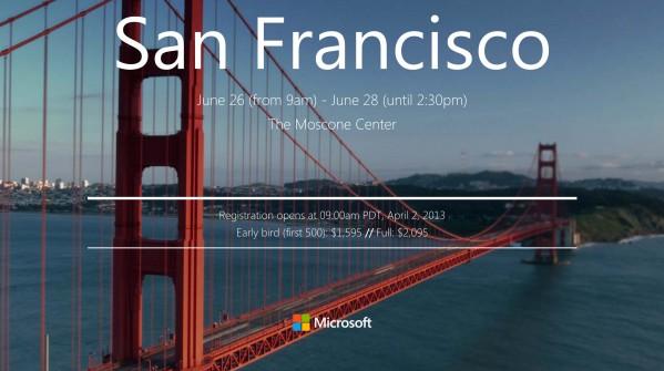 Microsoft BUILD 2013 Akan Diadakan Malam Nanti
