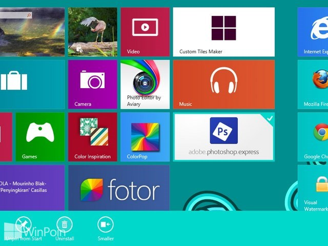 Cara Install dan Uninstall Aplikasi Windows Store di Windows 8