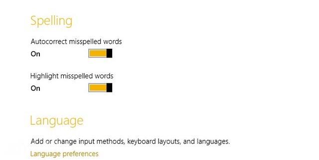 Cara Mematikan dan Menghidupkan Spell Checking di Windows 8
