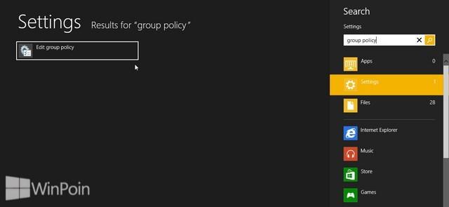 Cara Mematikan Fitur Password Gambar di Windows 8