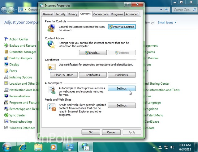 Cara Mematikan dan Mengaktifkan Auto Suggest di Windows Explorer dan Windows Run
