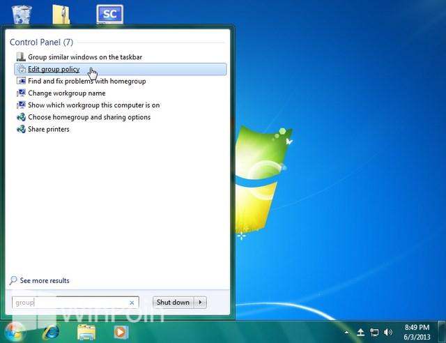 Cara Mengaktifkan atau Mematikan Restore Backup File di Windows 7