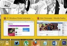 Cara Mengaktfikan dan Mematikan Taskbar Thumbnail Preview di Windows 7