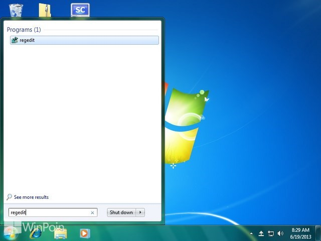 Cara Mengaktfikan dan Mematikan Taskbar Thumbnail Preview di Windows 7