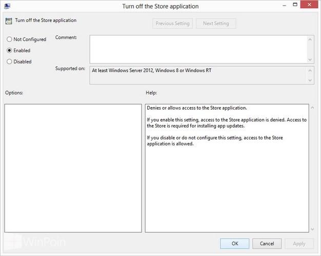Cara Mematikan Windows Store di Windows 8