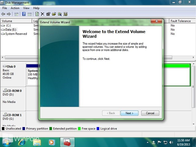 Cara Membagi Partisi di Windows 7