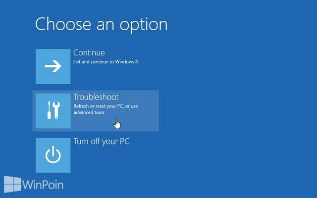 Cara Membuka Command Prompt Saat Booting Windows 8