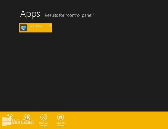 Cara Membuka Control Panel di Windows 8
