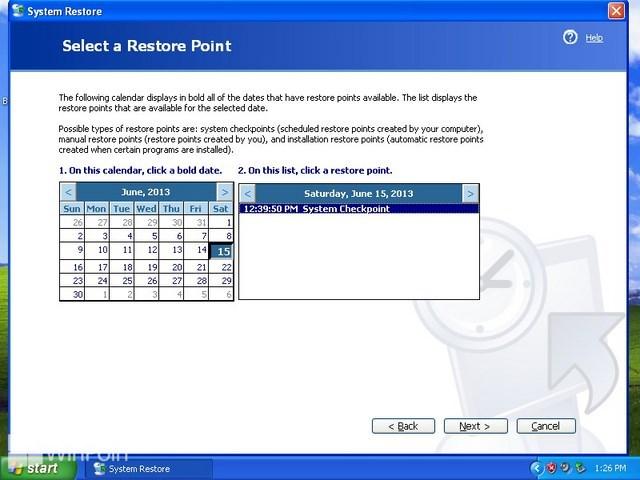Panduan Untuk Fitur Memperbaiki Windows XP