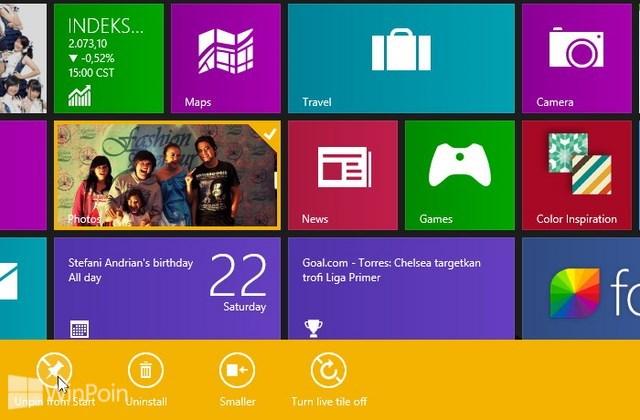 Cara Menambahkan Aplikasi atau Software di Start Screen Windows 8