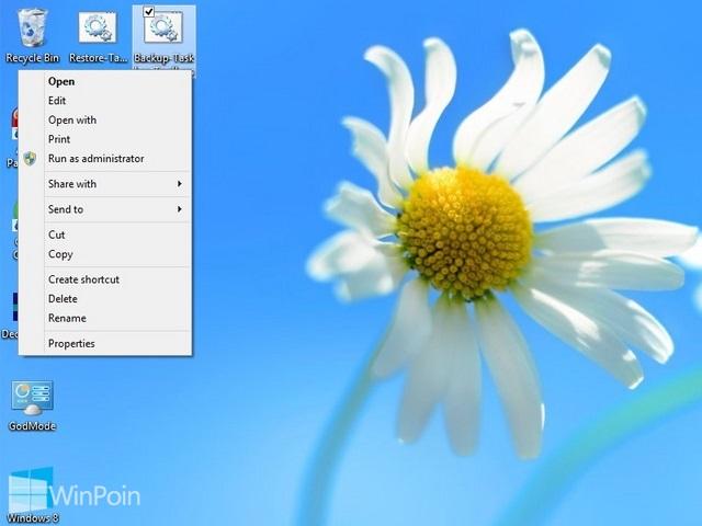 Cara Menambahkan Open With Pada Klik Kanan File BAT