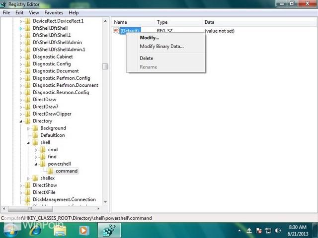 Cara Menambahkan Menu Open PowerShell pada Klik Kanan di Windows
